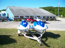 Glen Lake Marine Jet Ski Rentals in Glen Arbor Michigan for fun on Big and Little Glen Lake
